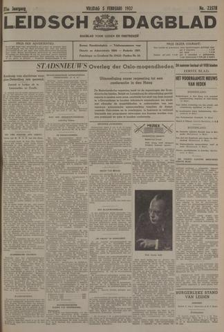 Leidsch Dagblad 1937-02-05
