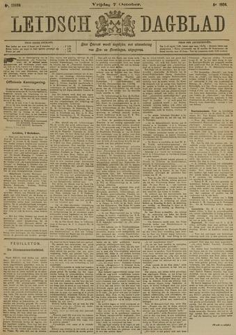 Leidsch Dagblad 1904-10-07