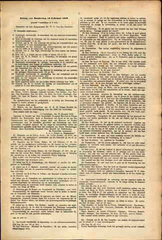 Handelingen van de Raad 1879-02-13