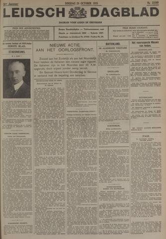 Leidsch Dagblad 1935-10-29