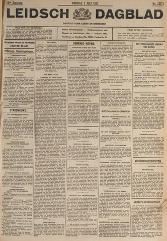 Leidsch Dagblad 1932-07-01