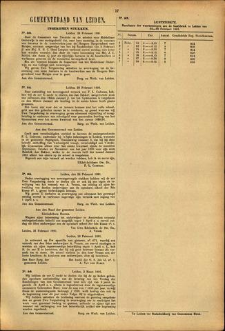 Handelingen van de Raad 1891-02-26