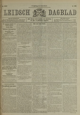 Leidsch Dagblad 1911-10-06