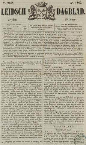 Leidsch Dagblad 1867-03-29