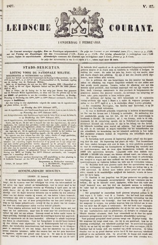 Leydse Courant 1877-02-01