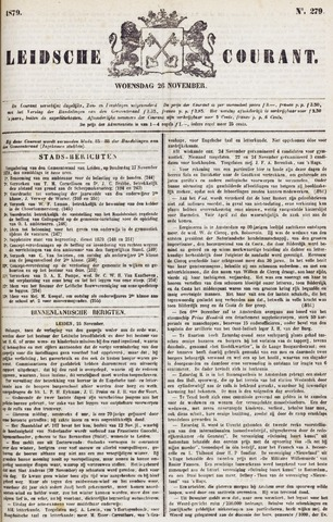 Leydse Courant 1879-11-26