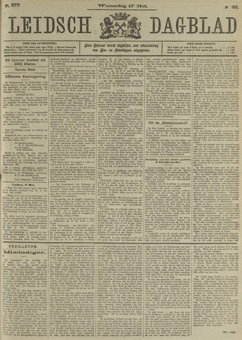 Leidsch Dagblad 1911-05-17