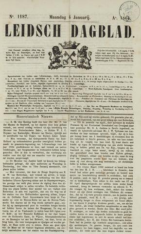 Leidsch Dagblad 1864-01-04