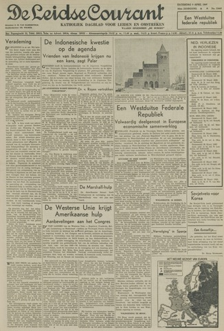 Leidse Courant 1949-04-09