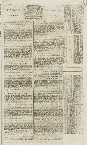 Leydse Courant 1817-10-03