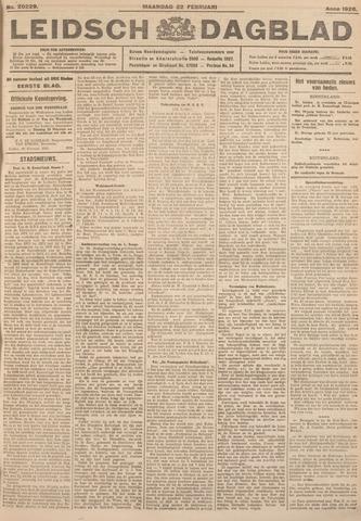 Leidsch Dagblad 1926-02-22