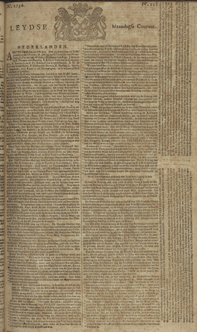 Leydse Courant 1756-10-25