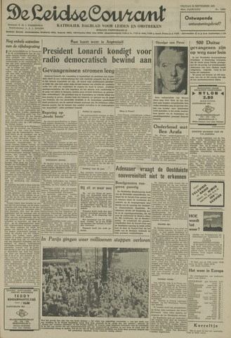 Leidse Courant 1955-09-23