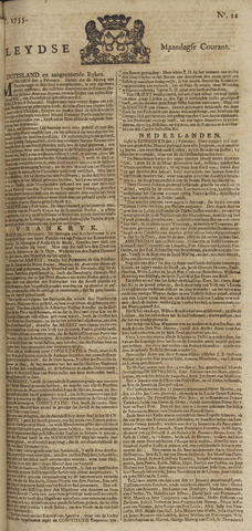 Leydse Courant 1755-02-17