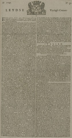 Leydse Courant 1740-03-11