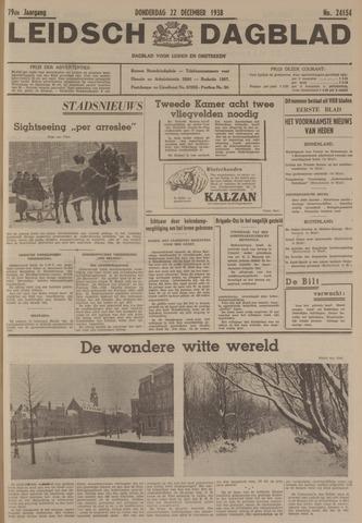 Leidsch Dagblad 1938-12-22
