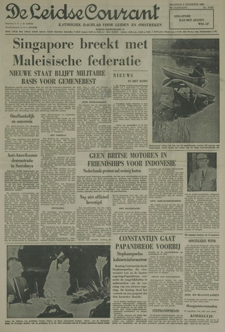 Leidse Courant 1965-08-09