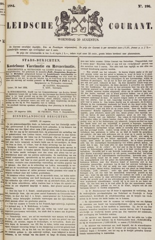 Leydse Courant 1884-08-20