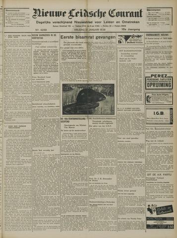 Nieuwe Leidsche Courant 1938-01-21