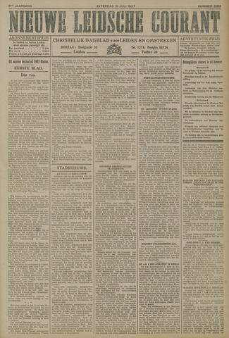 Nieuwe Leidsche Courant 1927-07-16