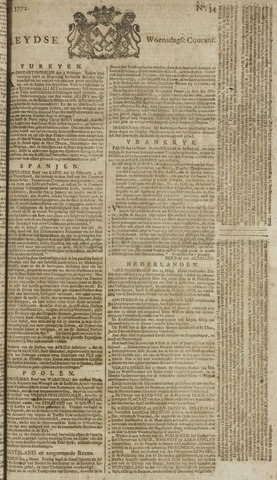 Leydse Courant 1772-03-18
