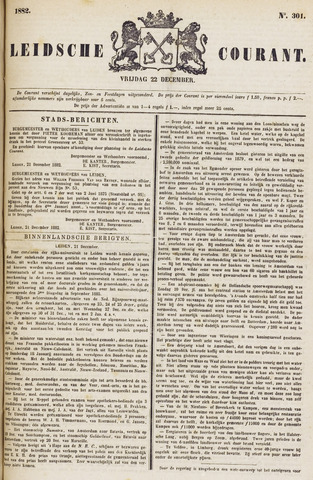 Leydse Courant 1882-12-22