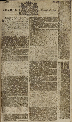 Leydse Courant 1766-04-18
