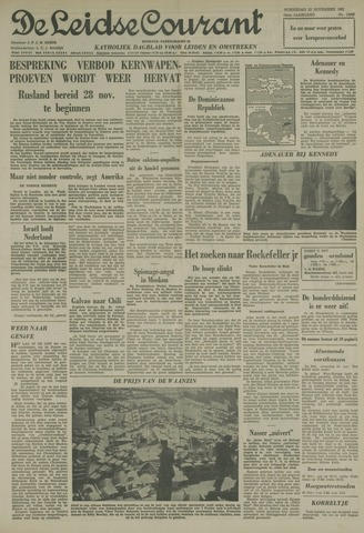 Leidse Courant 1961-11-22