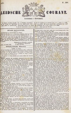 Leydse Courant 1879-11-01