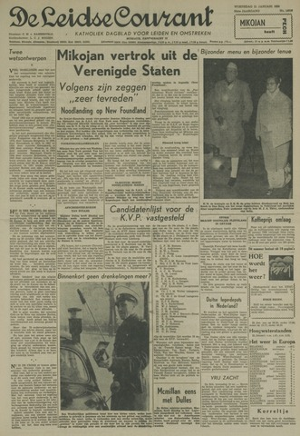 Leidse Courant 1959-01-21