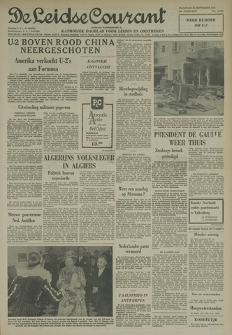 Leidse Courant 1962-09-10