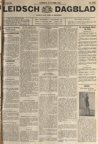 Leidsch Dagblad 1932-10-22