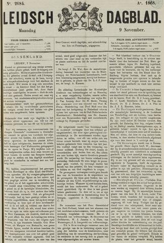 Leidsch Dagblad 1868-11-09
