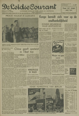 Leidse Courant 1960-06-29