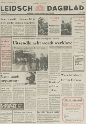 Leidsch Dagblad 1980-12-24