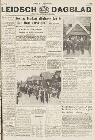 Leidsch Dagblad 1954-08-14