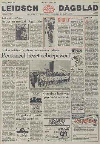 Leidsch Dagblad 1985-04-15