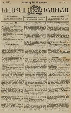 Leidsch Dagblad 1882-11-14