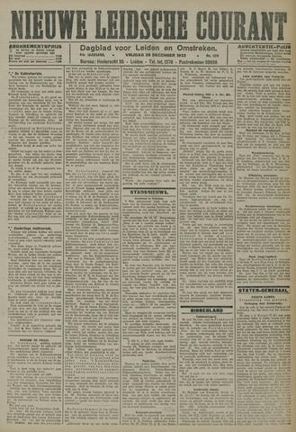 Nieuwe Leidsche Courant 1923-12-28