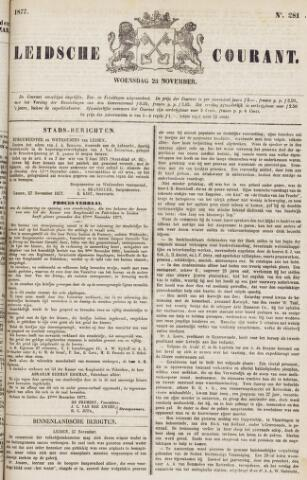 Leydse Courant 1877-11-28