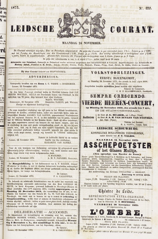 Leydse Courant 1873-11-24