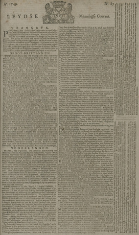 Leydse Courant 1749-07-21
