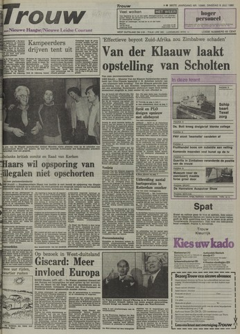 Nieuwe Leidsche Courant 1980-07-08