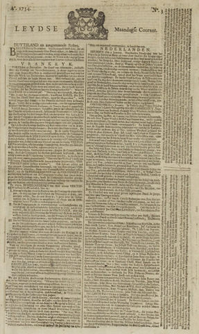 Leydse Courant 1754-01-07