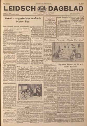 Leidsch Dagblad 1947-02-19