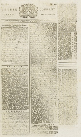 Leydse Courant 1822-02-01