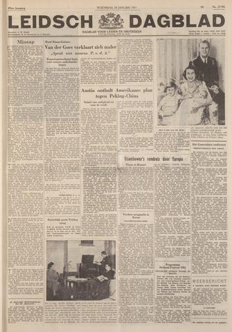 Leidsch Dagblad 1951-01-10