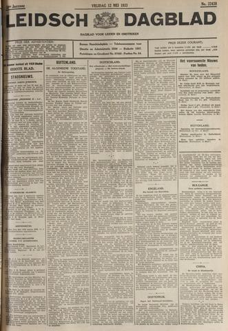 Leidsch Dagblad 1933-05-12