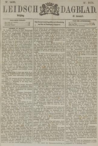 Leidsch Dagblad 1878-01-18