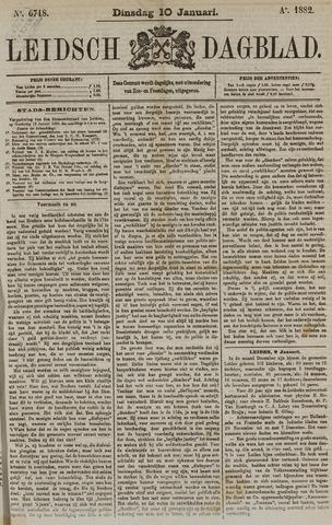 Leidsch Dagblad 1882-01-10